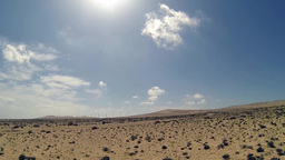 Fuerteventura Landscape stock footage