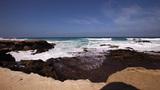 Rocky shore Footage