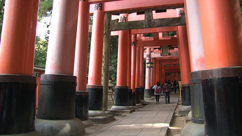 Fushimi Inari Stock Video Footage