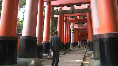 Fushimi Inari Footage