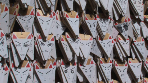 Fushimi Inari fox 03 Footage