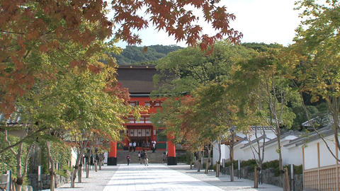 Fushimi Inari Temple entrance, Live Action