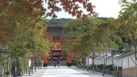 Fushimi Inari Temple entrance Live Action