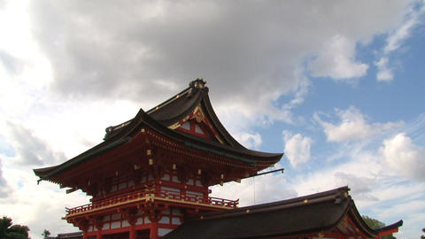 Fushimi inar temple timelapse Footage