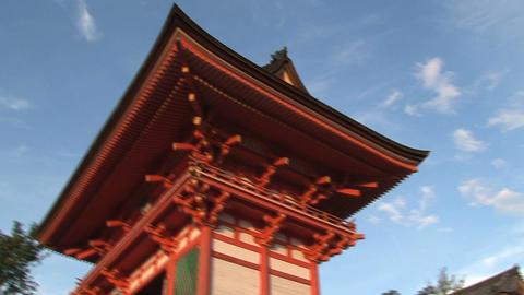 Kiyomizu Temple Stock Video Footage