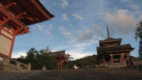 Kiyomizu Temple Stock Video Footage