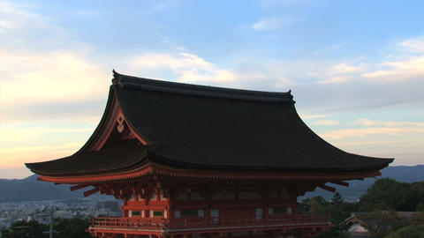 Kiyomizu Temple timelapse Stock Video Footage