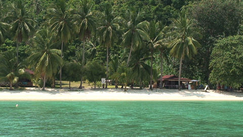 Perhentian Islands resort Footage