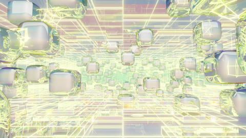 Holographic Geometry Modern 02 Animation