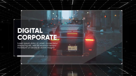 Digital Corporate - Business Presentation // Final Cut Pro Apple Motion Template