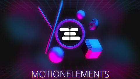 Geometry Elements Logo After Effects Template
