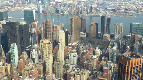 View of Manhattan, New York City Live Action