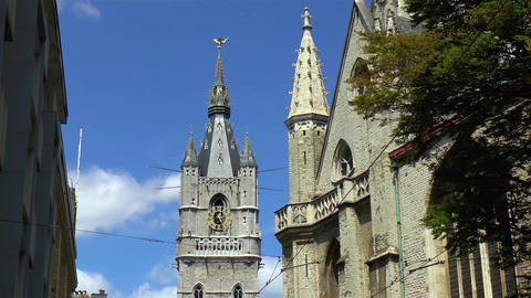 Medieval architecture: Ghent Belfry Live Action