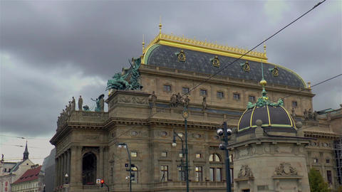 National Theater in Prague Live Action