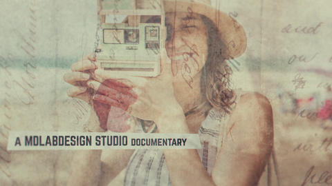 Paper Slides After Effects Template
