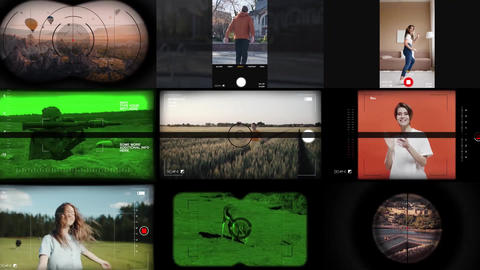 Viewfinder Essentials After Effects Template