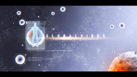 Global Virus Opener After Effects Template