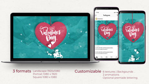 Valentine's Day Opener After Effects Template