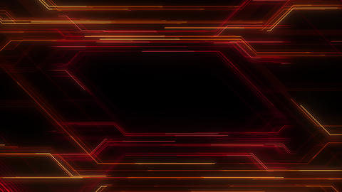 Digital Circuit Network Technology internet data space Background a Red3 Animation