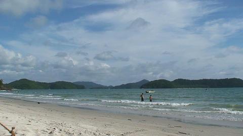 Lankawi beach Footage