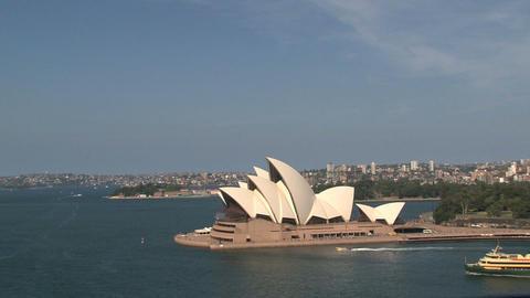 Opera house Sydney Stock Video Footage