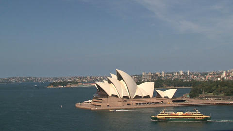 Opera house Sydney Stock Video Footage