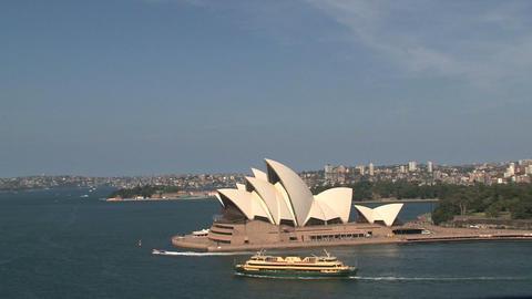 Opera house Sydney Footage