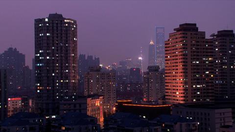 Urban timeplapse Stock Video Footage