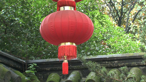 Chinees lantern Stock Video Footage
