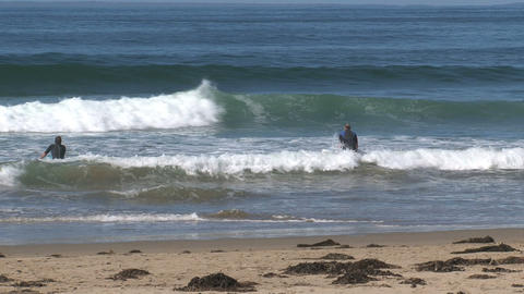 Surfers ready Stock Video Footage