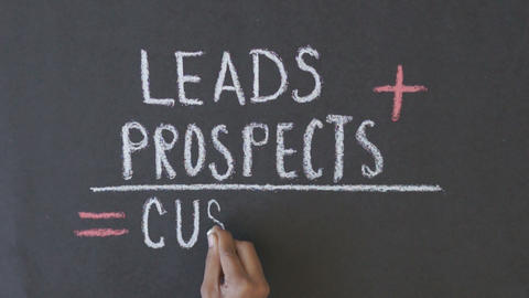 Leads, prospects, customers formula Footage