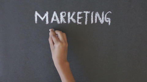 Marketing, Sales, Customers, Support Stock Video Footage