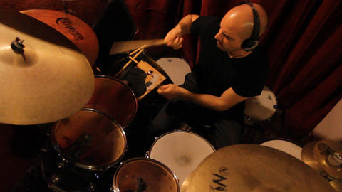 drumming rhythm drumstick percussion blues jazz instrument concert play band Footage