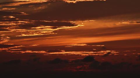 Sunset timelapse 05 Stock Video Footage