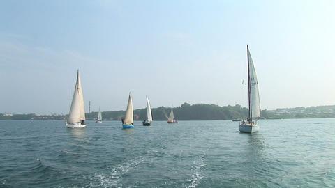 marine yacht Footage