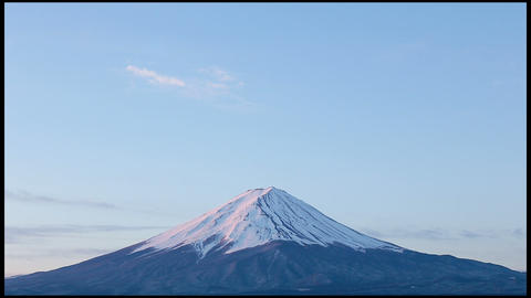 close-up of Mt.Fuji Stock Video Footage