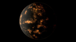 Coruscant planetary model Animation