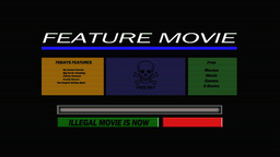 Illegal Down Load Animation Stock Video Footage