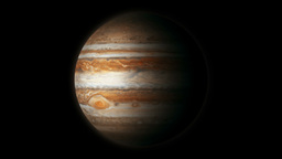 The Planet Jupiter Model Animation
