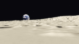 MoonScape Stock Video Footage