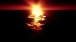 Ocean Sun Flare Animation
