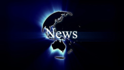 Global News Motion Graphic Stock Video Footage