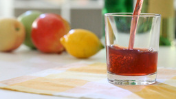 Fruit juice Stock Video Footage