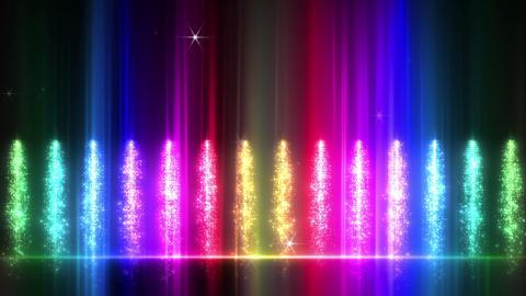 Light Water Fall 1 2d R HD Stock Video Footage
