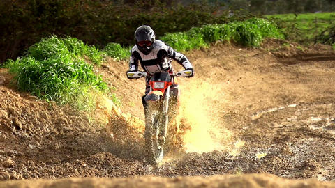 Morocross Mud Bath Footage