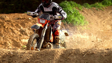 Morocross Mud Bath Stock Video Footage