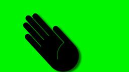SWINGING HAND Stock Video Footage