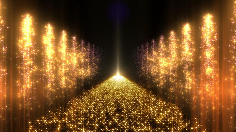 Light Water Fall 2 2e Y HD CG動画素材