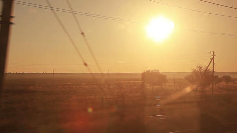 Train Sunrise Footage