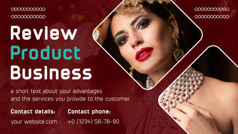 business card. advertising profile and advertising of services After Effects Template